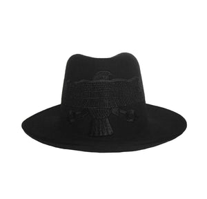 Black Falcon Fedora Crown