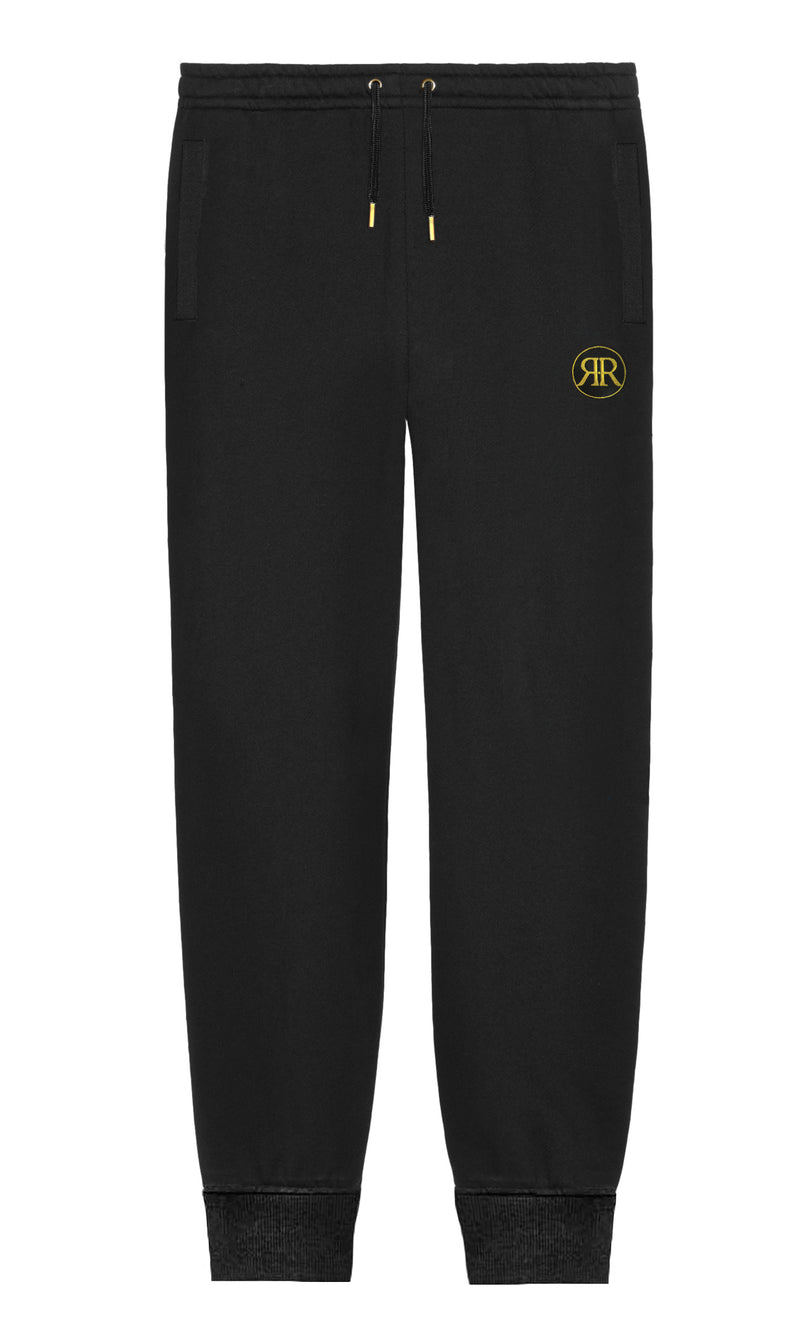 Black & Gold  Monogram Sweatpants