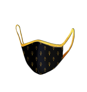 Breath of Life Ankh Monogram Face Mask