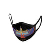 Goddess Maat Embroidered  Face Mask