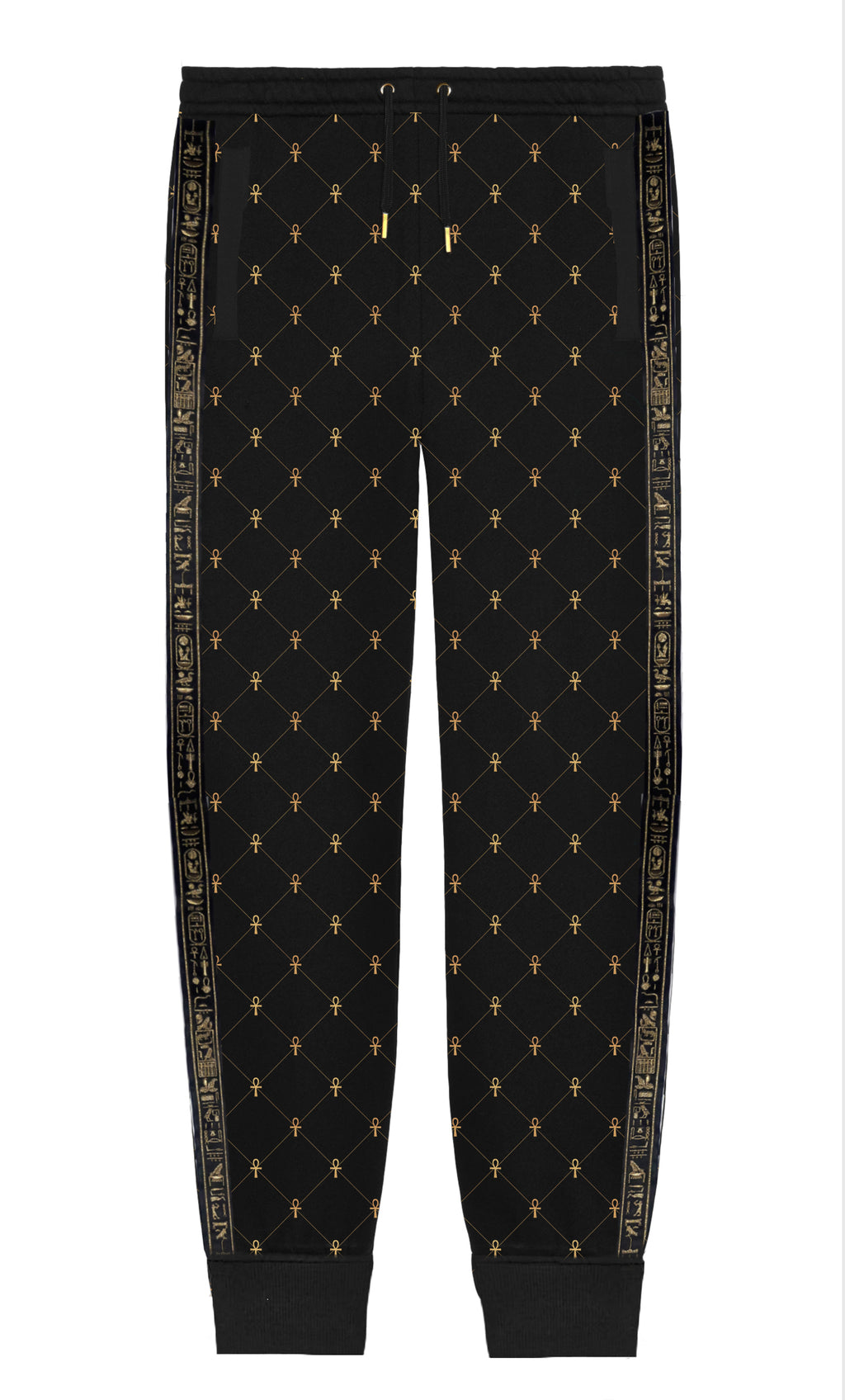 Black & Gold  All Life Sweatpants
