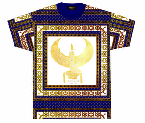 Son of Isis T-shirt  Blue White & Gold