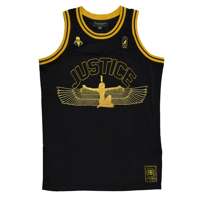 Goddess Maat 42 Black & Gold Jersey