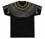 Protected by Horus Black Green & Red