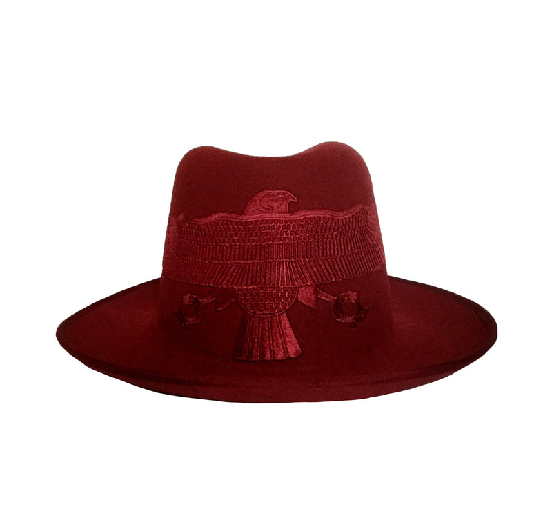 Red Falcon Fedora Crown