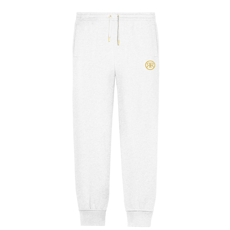 White Monogram Sweatpants