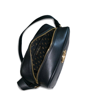 Winged Scarab Monogram Belt  Bag