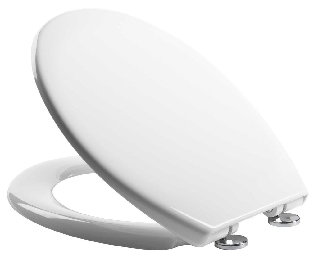 Outstanding Soft Close Quick Release Toilet Seat White Heavy Duty Dual Fixing System Ibusinesslaw Wood Chair Design Ideas Ibusinesslaworg