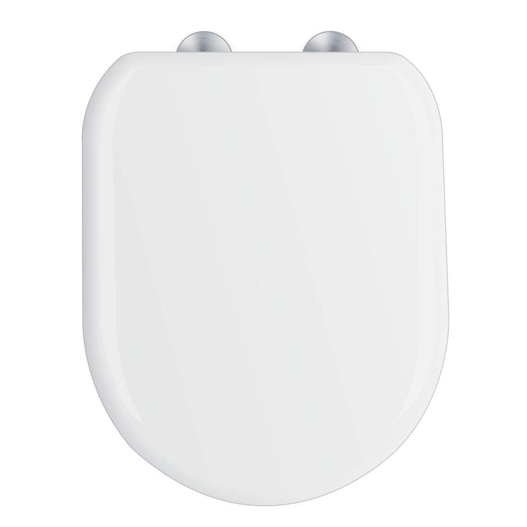 Pleasing Toilet Seat D Shaped Rounded Edges Quick Release Soft Close Uf Urea Formaldehyde Material Dual Fixing System Onthecornerstone Fun Painted Chair Ideas Images Onthecornerstoneorg