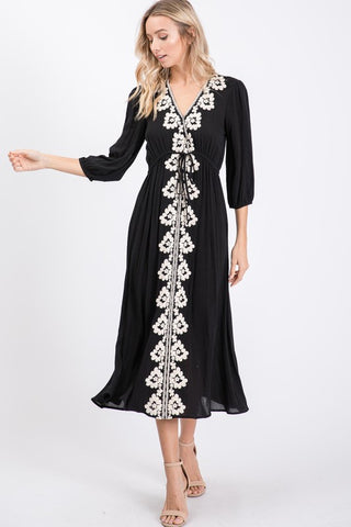 The Ryan Dress in Black