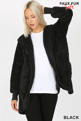 The Cocoon Jacket in Black