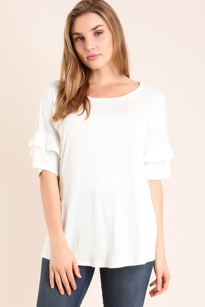 The Rebecca Top in White