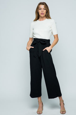 Tencel Pants in Black