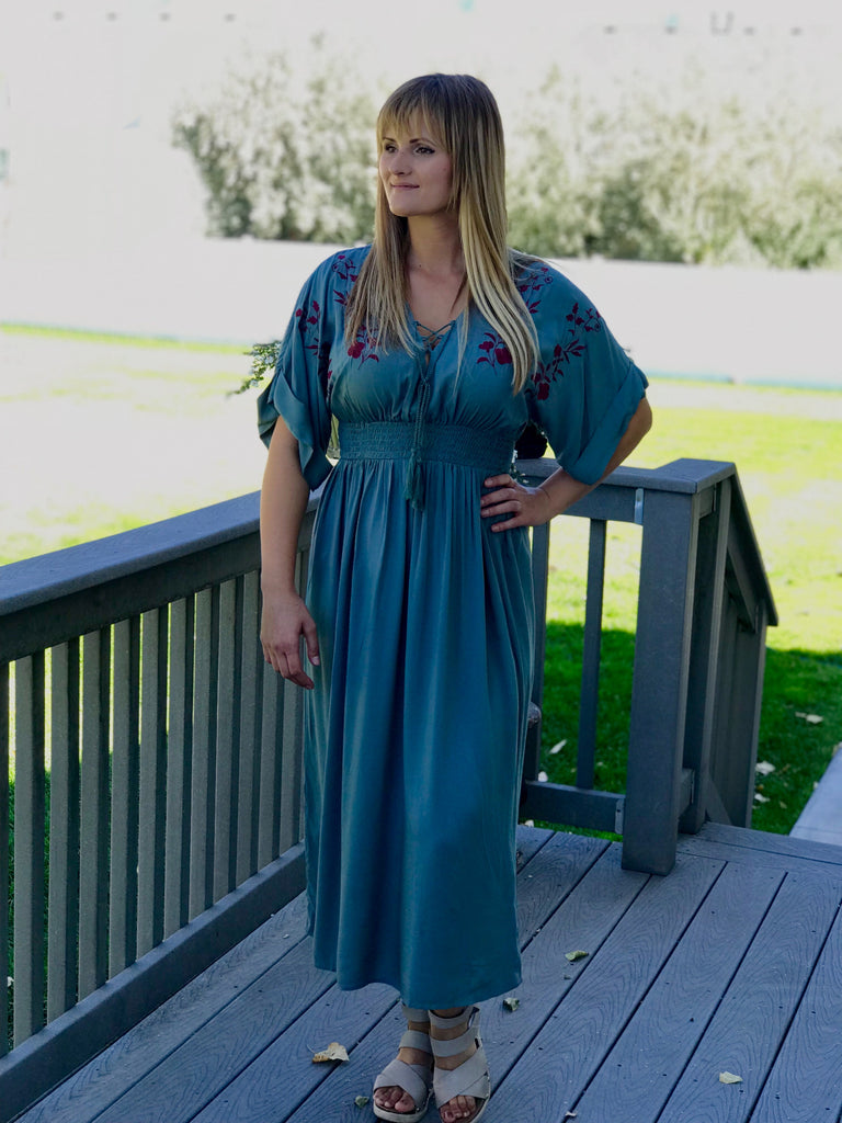 8efd22b57acc The Emberly Dress in Olive – Olive and Rose Boutique