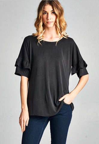The Rebecca Top in Black