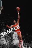 ARTIS GILMORE AUTOGRAPHED 8x10 PHOTO - PRIVATE AUTOGRAPH SIGNING FEB 27TH 2021