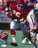CHRISTIAN OKOYE AUTOGRAPHED 8X10 PHOTO JSA AUTHENTICATED (RUSHING)