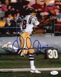 CHARLIE JOINER AUTOGRAPHED SAN DIEGO CHARGERS 8X10 PHOTO JSA COA (STRETCH CATCH)