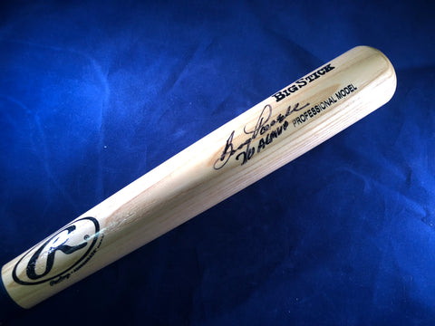 BOOG POWELL AUTOGRAPHED FULL SIZE BAT W/ AL MVP INSCRIPTION - JSA COA
