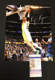 KYLE KUZMA AUTOGRAPHED 11X14 PHOTO LOS ANGELES LAKERS - WHITE (JSA SD COA)