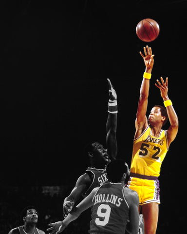 JAMAAL WILKES AUTOGRAPHED 8x10 JUMP SHOT PHOTO - PRIVATE AUTOGRAPH SIGNING JANUARY 10TH 2021