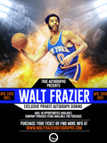 PSA/DNA AUTHENTICATION TICKET FOR WALT FRAZIER PRIVATE AUTOGRAPH SIGNING APRIL 24TH 2021