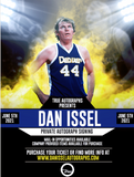 JSA AUTHENTICATION TICKET FOR DAN ISSEL PRIVATE AUTOGRAPH SIGNING JUNE 5TH 2021