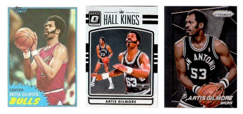 ARTIS GILMORE AUTOGRAPHED CARD (OUR CHOICE) - PRIVATE AUTOGRAPH SIGNING FEB 27TH 2021