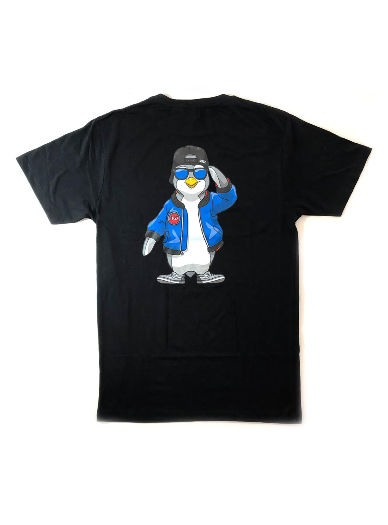 Figz Penguin | T-Shirt (Youth + Adult)