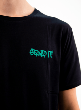 SEND IT TEE TEAL