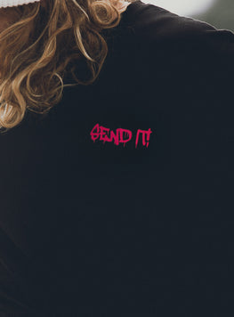 SEND IT TEE PINK (ADULT + YOUTH)