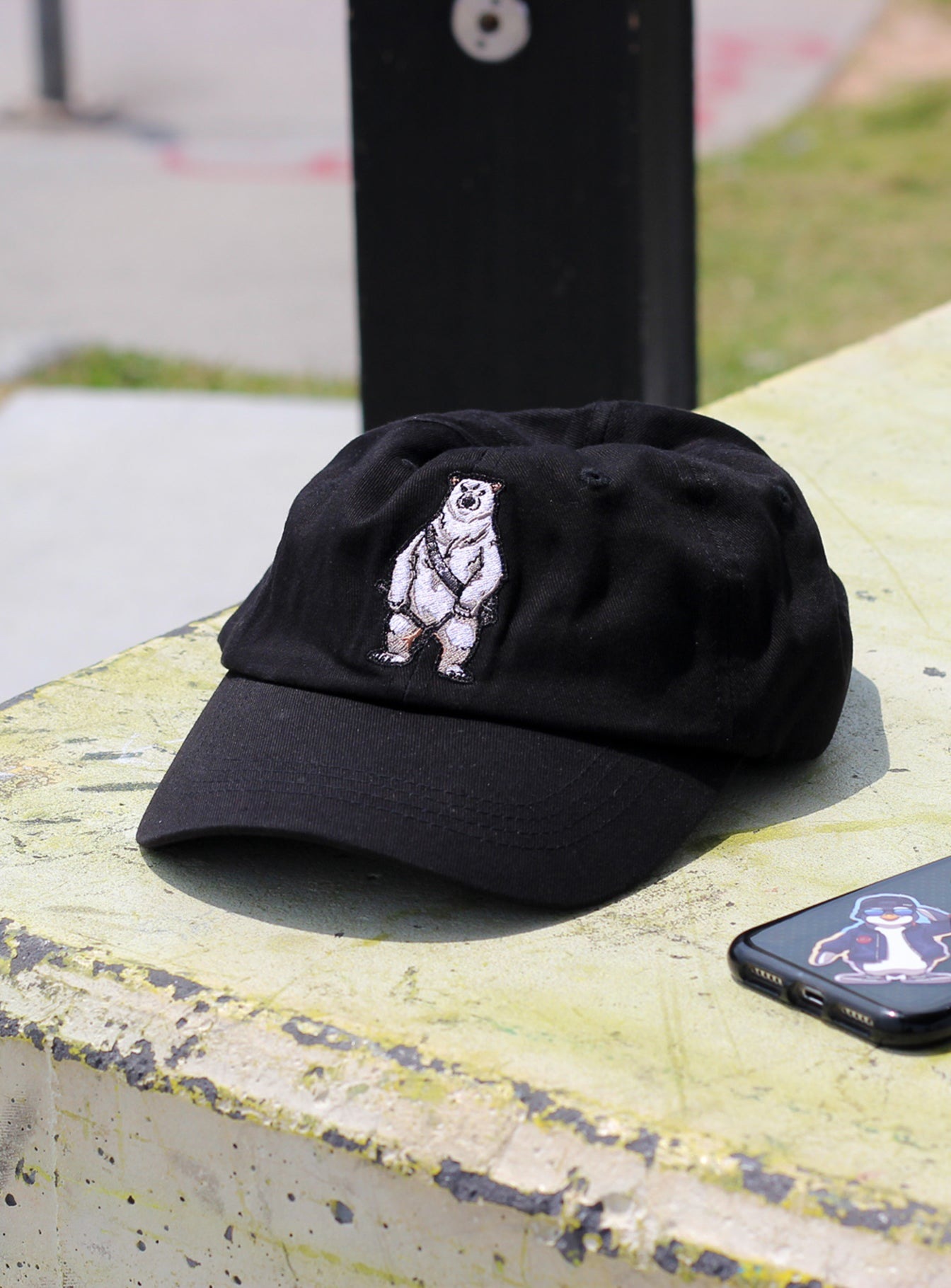 Figz Dad Hat | Polarbear
