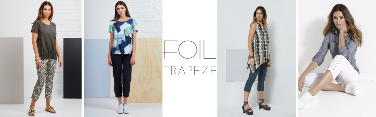 Foil Trapeze Collection | Silvermaple Boutique