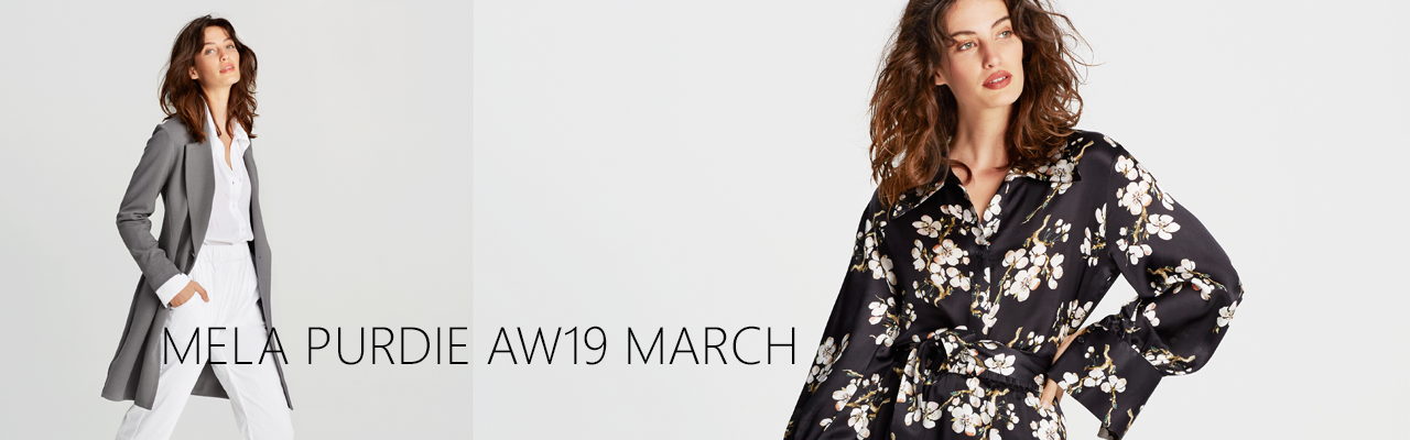 Mela Purdie March AW19 Wardrobe | Silvermaple Boutique