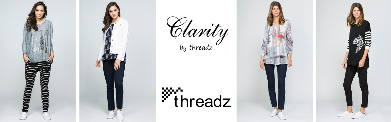Threadz and Clarity Size Guide | Silvermaple Boutique
