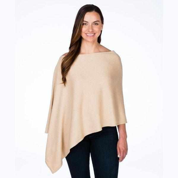 Esperance & Co Cashmere Topper | Mongolian Cream - Silvermaple Boutique