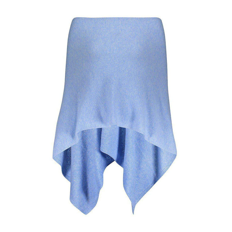 Esperance & Co Cashmere Topper | Sky Blue - Silvermaple Boutique