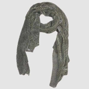 Moda Sparkle Pleat Scarf-Silvermaple Boutique-Silvermaple Boutique