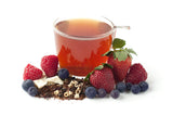 berries and cream loose leaf tea