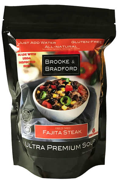 Fajita Steak Soup Pouch