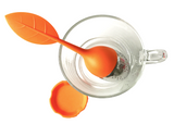 Orange Leaf Tea Infuser