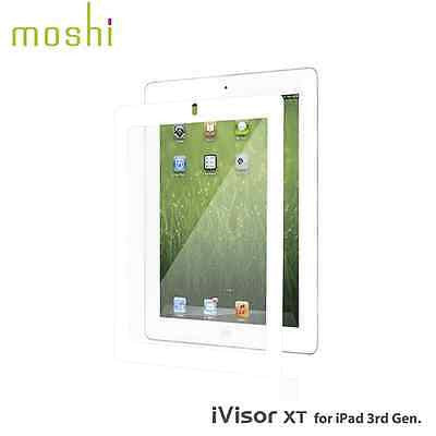 Moshi iVisor XT Clear Screen Protector for iPad 2/3/4 - White