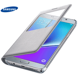 Samsung Galaxy Note 5 S-View Cover - Silver
