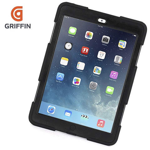 Griffin Survivor for Ipad Air - Black