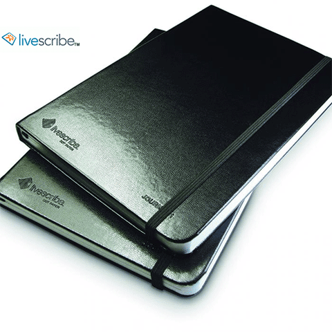 Livescribe Lined Journals Black 2 Pack