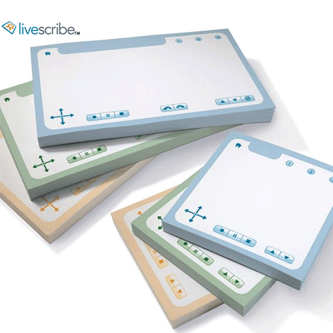 Livescribe Sticky Notes for all Livescribe Smartpens