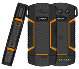 Aspera R8 Rugged Power Bank with Torch and MicroSD