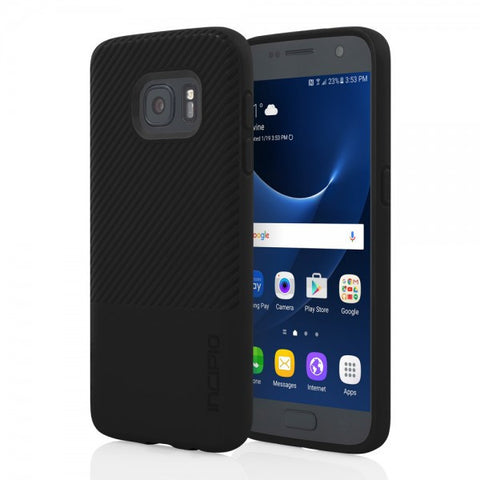 Galaxy S7 impact resistant case with Twill pattern from Incipio