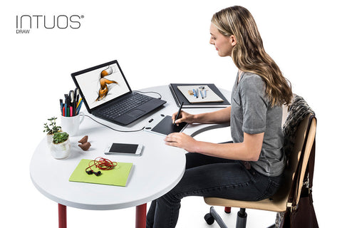 Wacom Intuos Draw graphics tablet