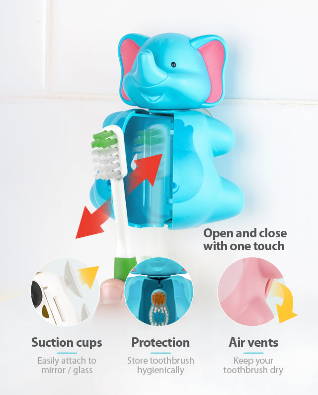Fun Animal Elephant toothbrush cover